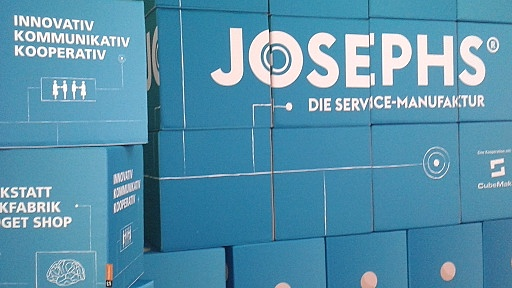 Opening of JOSEPHS® – The Service Manufacture: experience and form Innovation