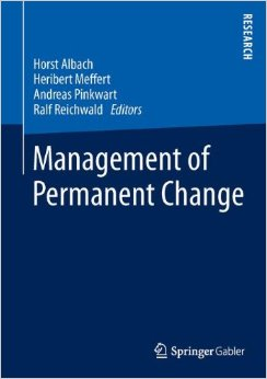 "New release: ""Management of Permanent Change"""