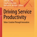 Just published – New book on service productivity
