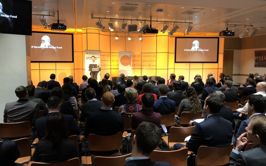 CLIC fellow Dr. Thomas Zwack at Fintech Interactive Forum in London