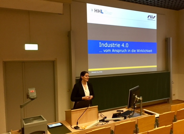 Putting Industry 4.0 into practice – Dr. Claudia Lehmann at the University of Halle-Wittenberg